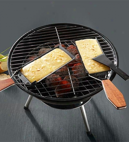 Nonstick Cheese Barbeclette Grill-top Cheese Melter