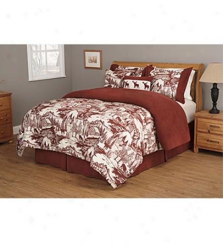 Northwest-style Queen Woodland 4-piece Comforter Set