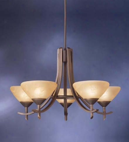 Olympis Five- Light Chandelier