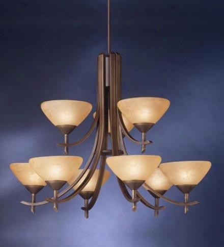 Olympia Nine-light Chandelier