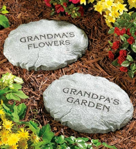 One Equator Personalized Stepping Stones