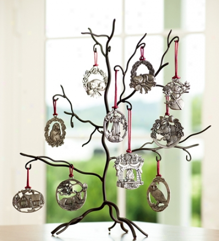 Ornament Tree And 10 Ornaments