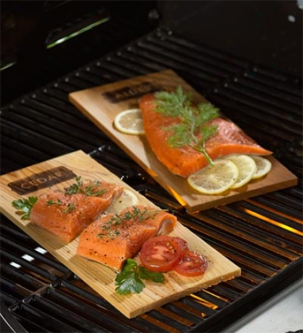 Outdoor Grilling Wood Planks, Set Of 6