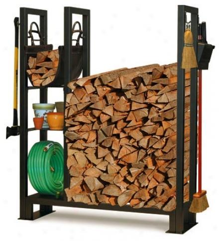 Outdoor Utility Wood Rack