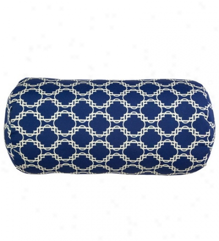 Outdoor Weather Resistant Bolster Pillow