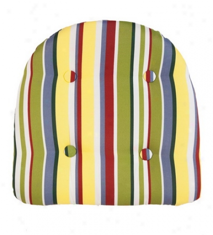 Outdoor Weather Resistant Tufted Chair Cushion