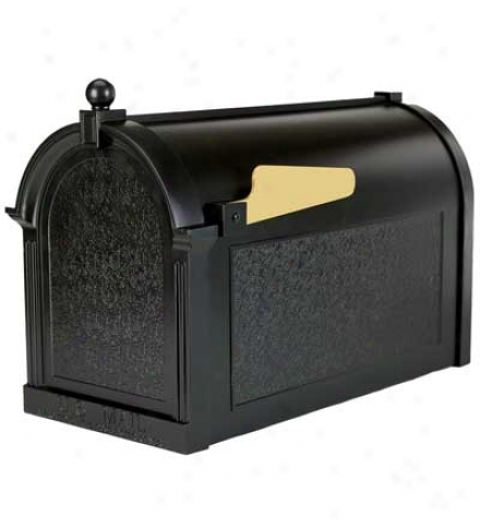 "Oversized Aluminum Mailbox13""l X 20-1/4""w X 9-1/2""h"
