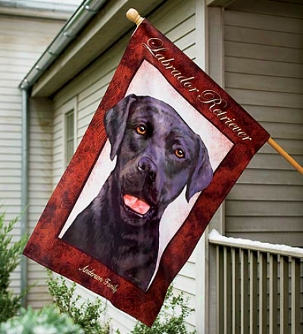 Personalized Dog Breed House Flag