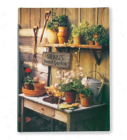 """Personalized """"potted Garden"""" Canvas Wall Art"""