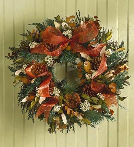 Piney Den Wreath