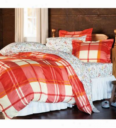 Plaid Flannel King Duvet Cover