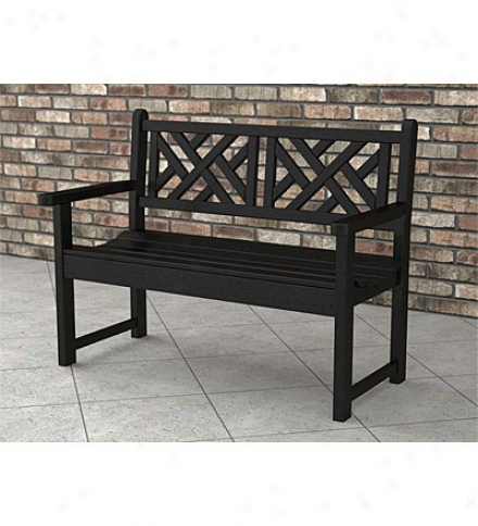 Poly-qood™ Chippendale Bench