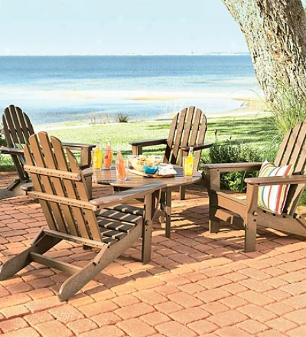 Poly-wood™ Low-maintenance Adirondack Chat Table