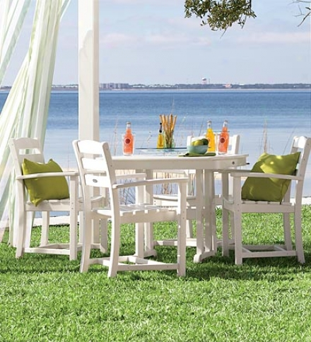 Poly-wood™ Low-maintenance Outdoor La Casa Dining Chair