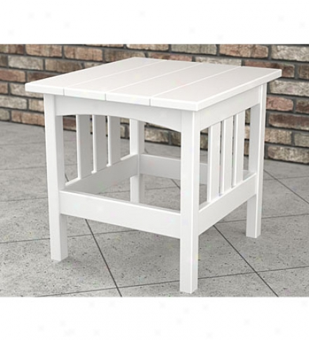 "Poly-wood™ Mission Side Table22""l X 24""w X 22""h"