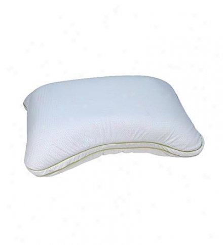 Polyester Fiber Fill And Mesh Contourbio Pillow For Side/back Sleepers