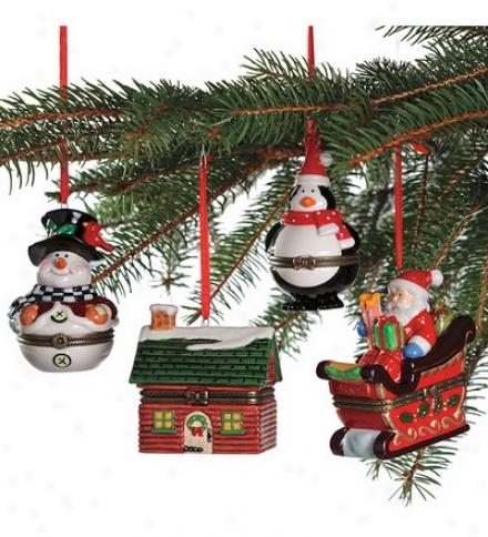Porcelain Ornament Box