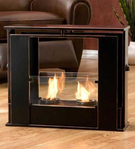 Portable Indoor/outdoor Jelled-fuel Fireplace