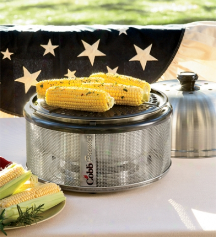 Portable Table-top Stainless Steel Cobb Grill