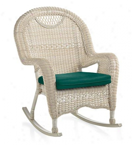 "Prospect Hill Outdoor Resin Wicker Rocking Chair29""w X 28-1/2""d X 39""h"