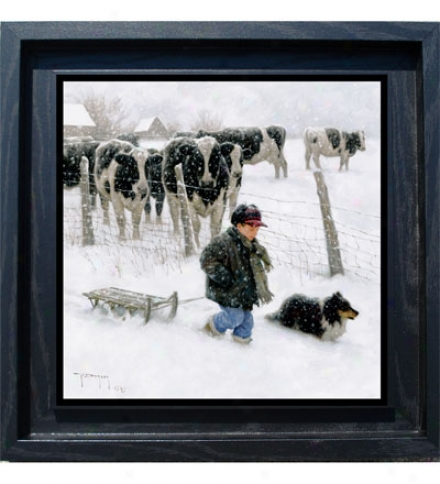 """curious Onlookers"" Framed Giclee Print By Robert Duncan"