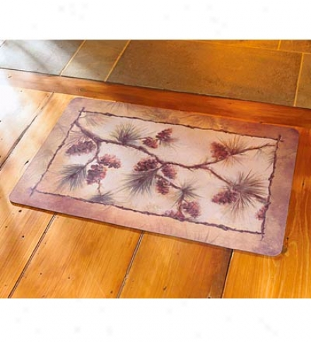Rectangle Pine Cone Rug