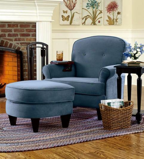 Reno Chair & Ottoman Set