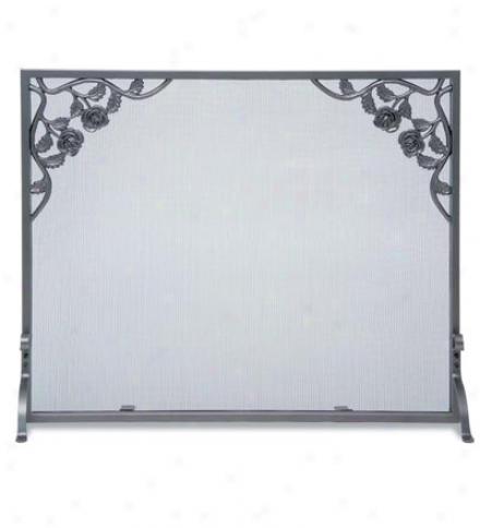 Rose Flat Panel Veil