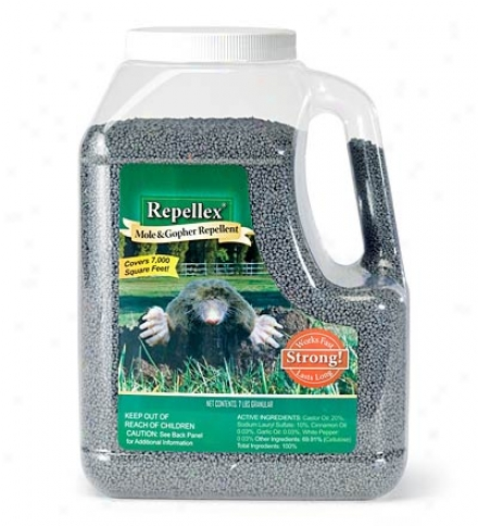 Safe And Natural Lawn Protection: Mole, Vole, And Gopher Repellent, 7lbs.