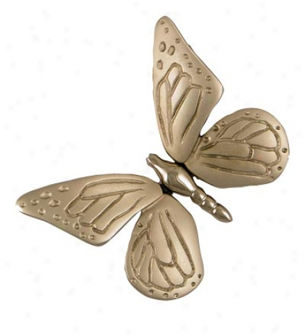 Sand-cast Butterfly Door Knocker By Michael Healy