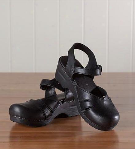 Sanita Margrethe Leather Mary Jane Sandals