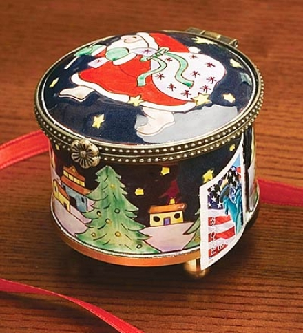 Santa Stamp Holder