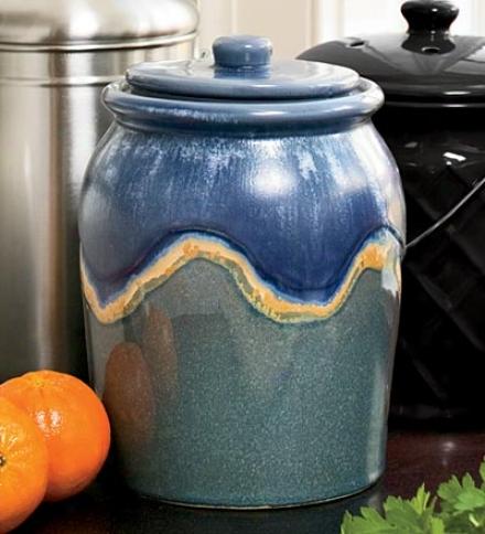 Set Of 2, 1-gallon Compost Crock Re-establishment Filters