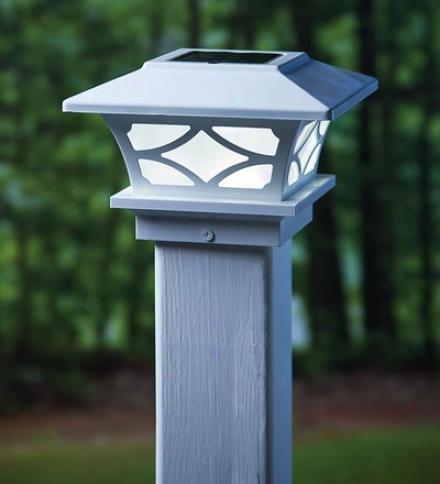 Set Of 2 Architectural Solar Post Acme Lightsbuy 3 Or More At $44.95 Each