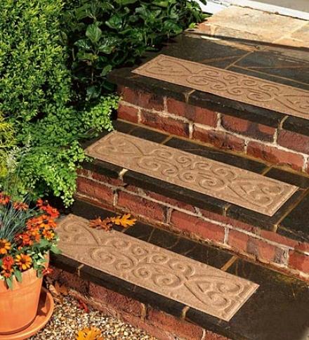 Set Of 4 Waterhog Stair Treads