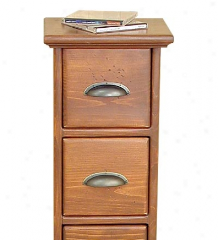 Six-drawer Cd Stand