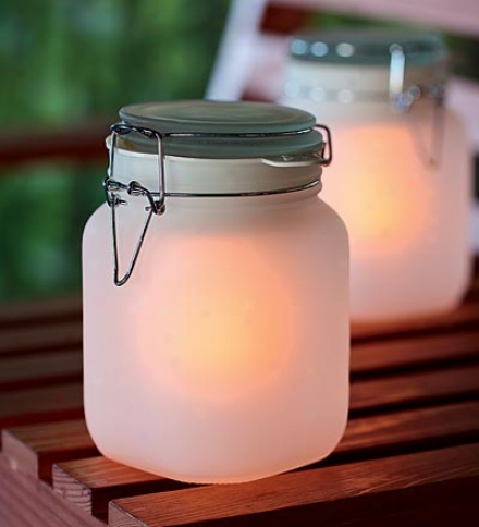 Solar-powered Glowing Sun Jar Buy 2 Or Added At $14.95 Each
