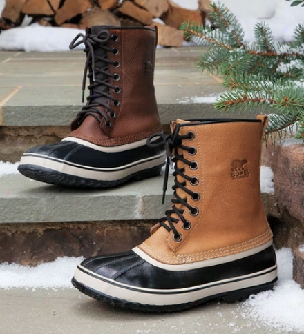 Sorel?? Premium??? Waterproof Leather Boot For Men