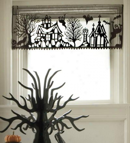 Spooky Hollow Valance