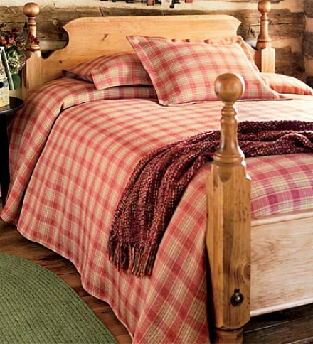 Standard Mad About Plaid Polyester/cotton Blend Sham