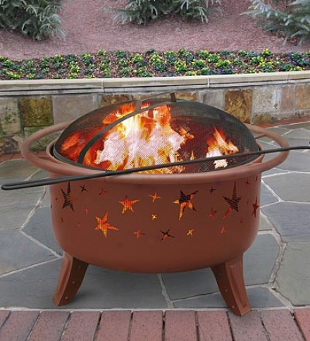 Starlight Steel Fire Pit In the opinion of Spark Defence Lid