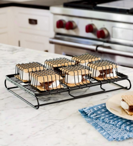 Steel Wire Indoor S'more Maker For Oven, Toaster Or Grill
