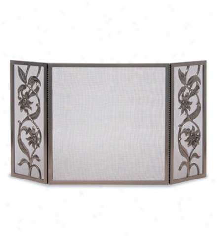 Sunflower Tri Panel Screen