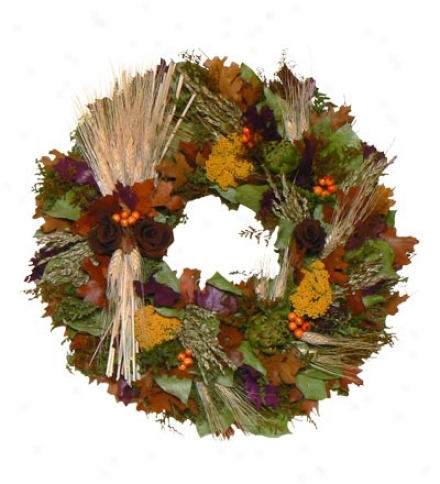 Sunrise Wheat Wreath