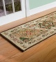 2'3&quot ; X 8' Wool Petit Hook Medallion Heritage Runner Rug
