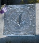 Cast-aluminum Roman Garden Sundial