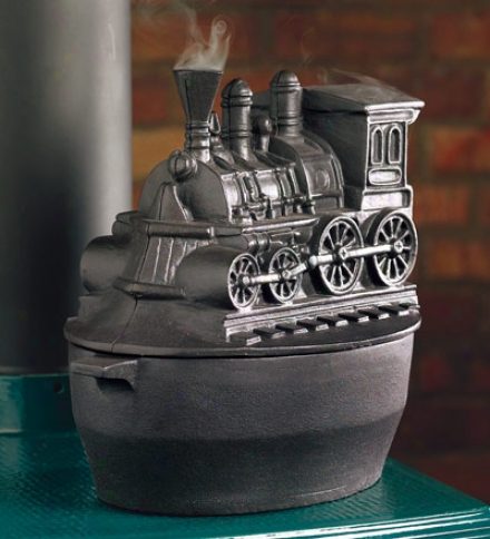 Train Woodstove Steamer