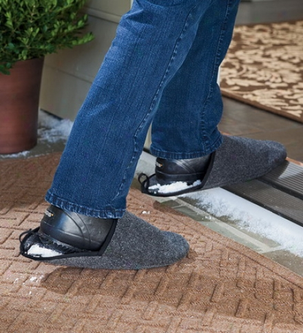Unisex Heavy-duty Slip-on Washable Shoe Shuffflers Foot/floor Protectors