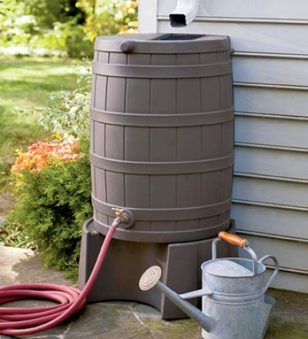 Usa-made 50-gallon Rain Wizard Water Conservation Barrel In the opinion of Brass Shut-off Valve