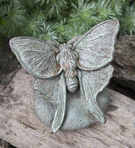 Us-amade Handcrafted Cast-stone Lunar Moth